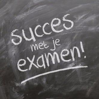 afbeelding succes met je examen